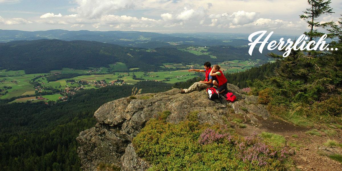 Urlaub in Bayern im Bayerischen Wald am Großen Arbersee